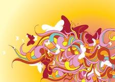 flora wzory Ilustracja Wektor