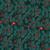Florabakgrund för bakgrundsillustration royaltyfri illustrationer