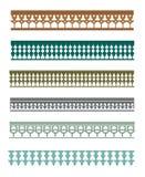 Florais islâmico e ornamento 3 Imagens de Stock