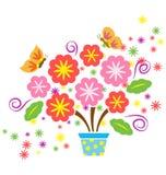 Floraison de source Photo libre de droits