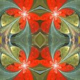 Floral σχέδιο stained-glass στο ύφος παραθύρων Μπορείτε να το χρησιμοποιήσετε για τις προσκλήσεις, καλύψεις σημειωματάριων, τηλεφ στοκ εικόνες
