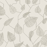Floral рattern. Seamless floral patterns.  illustration Royalty Free Stock Photos