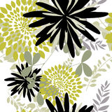 floral άνευ ραφής ανασκόπησης Στοκ Εικόνα