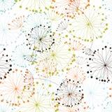 floral άνευ ραφής ανασκόπησης απεικόνιση αποθεμάτων