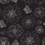 floral άνευ ραφής ανασκόπησης Στοκ Φωτογραφία
