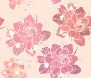 floral άνευ ραφής ανασκόπησης Στοκ φωτογραφίες με δικαίωμα ελεύθερης χρήσης