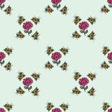 Όμορφο εκλεκτής ποιότητας άνευ ραφής floral υπόβαθρο Στοκ φωτογραφίες με δικαίωμα ελεύθερης χρήσης