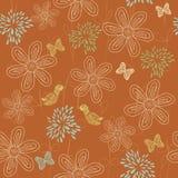 floral άνευ ραφής διάνυσμα ανασ& Στοκ εικόνες με δικαίωμα ελεύθερης χρήσης