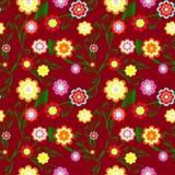 floral άνευ ραφής διάνυσμα ανασ& διανυσματική απεικόνιση