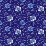 floral άνευ ραφής διάνυσμα θάμνω&n Στοκ Εικόνα