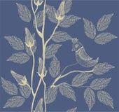 floral άνευ ραφής διάνυσμα που&lam Στοκ Εικόνα