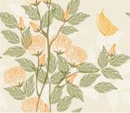 floral άνευ ραφής διάνυσμα σύστ&alpha Στοκ εικόνες με δικαίωμα ελεύθερης χρήσης