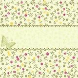 floral άνευ ραφής διανυσματικό&s Στοκ Εικόνα