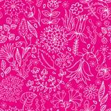 floral άνευ ραφής διάνυσμα προτύπων Στοκ φωτογραφία με δικαίωμα ελεύθερης χρήσης