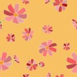 floral άνευ ραφής διάνυσμα προτύ&p Στοκ Εικόνα