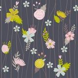 floral άνευ ραφής διάνυσμα προτύ&p Ελεύθερη απεικόνιση δικαιώματος