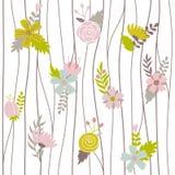 floral άνευ ραφής διάνυσμα προτύ&p Διανυσματική απεικόνιση