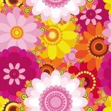 floral άνευ ραφής Πάσχας ανασκόπ&e Στοκ εικόνα με δικαίωμα ελεύθερης χρήσης