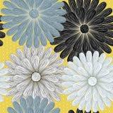 Floral άνευ ραφής πρότυπο ελεύθερη απεικόνιση δικαιώματος