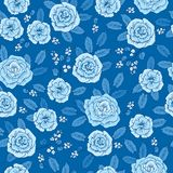 Floral άνευ ραφής σχέδιο με συρμένα τα χέρι χαριτωμένα λουλούδια για το κλωστοϋφαντουργικό προϊόν, τις ταπετσαρίες, το περικάλυμμ απεικόνιση αποθεμάτων