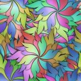 Floral άνευ ραφής σχέδιο με τα τρισδιάστατα λουλούδια Στοκ Φωτογραφία