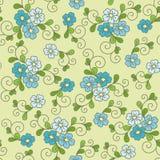 Floral άνευ ραφής σχέδιο με forget-me-not Στοκ φωτογραφία με δικαίωμα ελεύθερης χρήσης