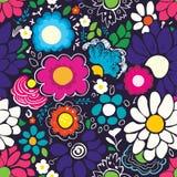 Floral άνευ ραφής σχέδιο απεικόνιση αποθεμάτων