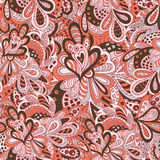 Floral άνευ ραφής σχέδιο Doodle Στοκ εικόνα με δικαίωμα ελεύθερης χρήσης
