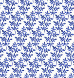 Floral άνευ ραφής σχέδιο Watercolor Στοκ φωτογραφία με δικαίωμα ελεύθερης χρήσης