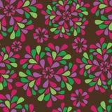 floral άνευ ραφής σχεδίου Στοκ Εικόνες