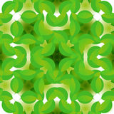 Floral άνευ ραφής σύσταση με τα πράσινα λουλούδια απεικόνιση αποθεμάτων