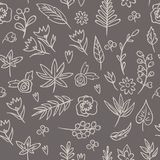 floral άνευ ραφής σύσταση Φωτεινό υπόβαθρο, άνευ ραφής σχέδιο θερινού θέματος Διανυσματική ταπετσαρία, θερινή σύσταση, που τυλίγε Στοκ εικόνα με δικαίωμα ελεύθερης χρήσης