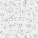 floral άνευ ραφής σύσταση Φωτεινό υπόβαθρο, άνευ ραφής σχέδιο θερινού θέματος Διανυσματική ταπετσαρία, θερινή σύσταση, που τυλίγε Στοκ Εικόνες
