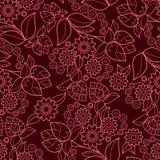 floral άνευ ραφής σύσταση Στοκ Εικόνες