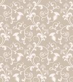 floral άνευ ραφής ταπετσαρία πρ&omic Στοκ Εικόνες