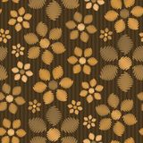 floral άνευ ραφής ταπετσαρία Στοκ εικόνες με δικαίωμα ελεύθερης χρήσης