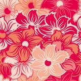floral άνευ ραφής ταπετσαρία Στοκ φωτογραφίες με δικαίωμα ελεύθερης χρήσης