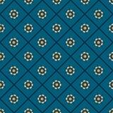 floral άνευ ραφής τρύγος προτύπω& Στοκ εικόνες με δικαίωμα ελεύθερης χρήσης