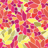 floral άνευ ραφής Στοκ Φωτογραφία
