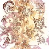 floral άνευ ραφής Στοκ Εικόνα