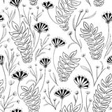 floral άνευ ραφής Στοκ φωτογραφία με δικαίωμα ελεύθερης χρήσης