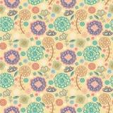 floral άνοιξη προτύπων σχεδίου Διανυσματική απεικόνιση