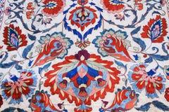 Floral ένωση τοίχων ταπήτων στο Ισραήλ Στοκ Εικόνες