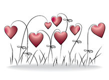 floral αγάπη ανασκόπησης Στοκ φωτογραφία με δικαίωμα ελεύθερης χρήσης