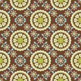 floral αναδρομικός άνευ ραφής π&r ελεύθερη απεικόνιση δικαιώματος