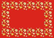 floral αναδρομικός απεικόνιση αποθεμάτων