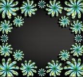 Floral ανασκόπηση για το κείμενο Στοκ Φωτογραφίες