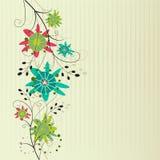 Floral ανασκόπηση Στοκ Εικόνες