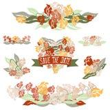 Floral ανθοδέσμες Στοκ Εικόνα