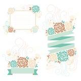 floral απεικόνιση σχεδίου καρτών ανασκόπησης φόντου Στοκ Φωτογραφίες